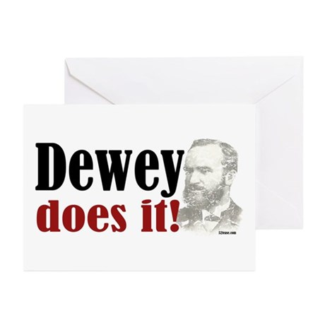 Dewey Does It! Greeting Cards (Pk of 10)
