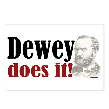 Dewey Does It! Postcards (Package of 8)