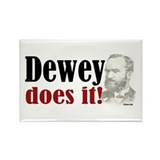 Dewey Does It! Rectangle Magnet