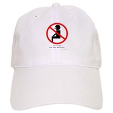 No Talking with Your Mouth Full Baseball Cap