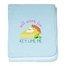 Work For Pie baby blanket