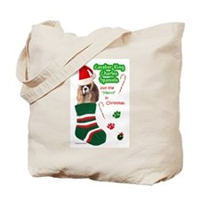 Cute Spaniel Tote Bag