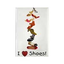 I love shoes Rectangle Magnet