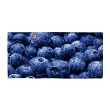 Fresh Juicy Blueberries towel Beach Towel