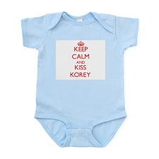 Keep Calm and Kiss Korey Body Suit