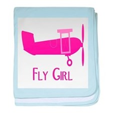 Fly Girl baby blanket
