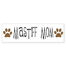 Mastiff Mom Bumper Bumper Sticker