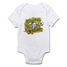 save the honey bees Infant Bodysuit