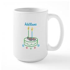 Customize Sports Birthday (center) Mugs