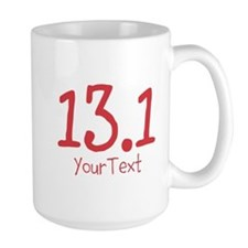 Customize Red 13.1 (center) Mugs