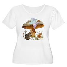 fairy mushroom Plus Size T-Shirt