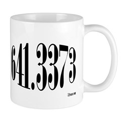 641.3373 Dewey/Librarian Coffee Mug
