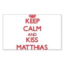Keep Calm and Kiss Matthias Decal