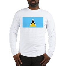 Saint Lucia Long Sleeve T-Shirt