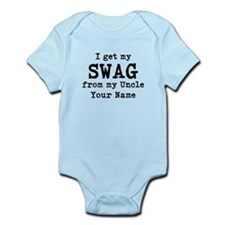 I Get My Swag From My Uncle (Custom) Body Suit