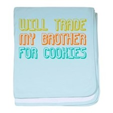 Trade Brother For Cookies baby blanket