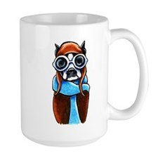 Boston Terrier CoPilot Mugs