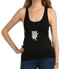 Cat Lady And Proud Racerback Tank Top
