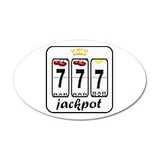 Lucky 7 jackpot Decal Wall Sticker