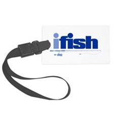 ifish (rod) Luggage Tag