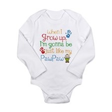 Pawpaw grandchild Long Sleeve Infant Bodysuit