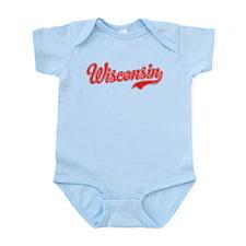 Wisconsin Script Font Body Suit