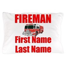 Fireman Pillow Case
