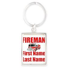 Fireman Keychains