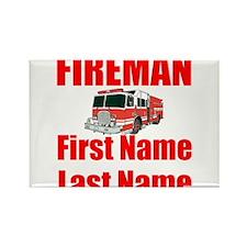 Fireman Magnets
