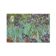 Irises-mousepad Rectangle Magnet