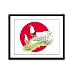 Japanese Yokohamas Framed Panel Print