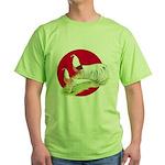 Japanese Yokohamas Green T-Shirt