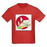 Japanese Yokohamas Kids Dark T-Shirt