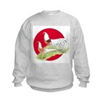 Japanese Yokohamas Kids Sweatshirt