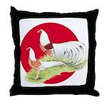 Japanese Yokohamas Throw Pillow
