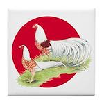 Japanese Yokohamas Tile Coaster