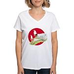 Japanese Yokohamas Women's V-Neck T-Shirt