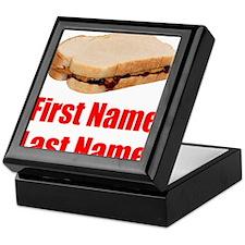 Peanut butter and Jelly Sandwich Keepsake Box