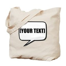 Word Bubble Personalize It! Tote Bag