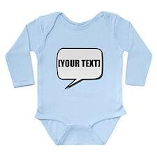 Word Bubble Personalize It! Body Suit