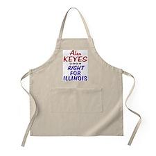 Alan Keyes for US Senate 2004 BBQ Apron