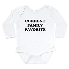 Funny Punk baby Long Sleeve Infant Bodysuit