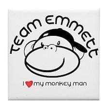 team emmett.png Tile Coaster