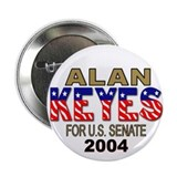Alan Keyes For U.S. Senate Button (10 pk)