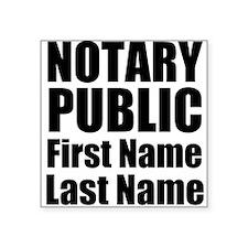 Notary Public Sticker