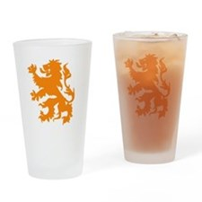 the dutch lion Drinking Glass