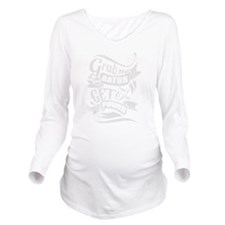 Grab The Gator Long Sleeve Maternity T-Shirt