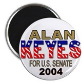 Alan Keyes For U.S. Senate Magnet (10 pk)