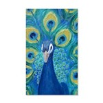 Peacock 35x21 Wall Decal