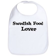 Swedish Food lover Bib